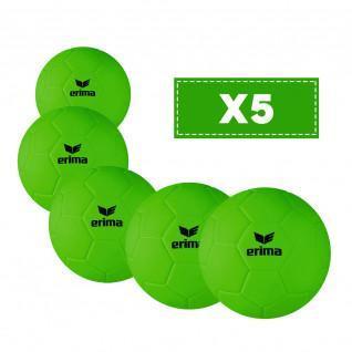 Set of 5 beach handballs for children Erima