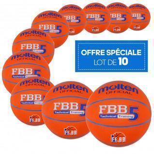 Batch of 10 leisure balloons Molten FBB Technical Training