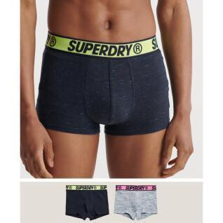 Set of two organic cotton boxer shorts Superdry