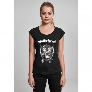 T-shirt woman Urban Classic motörhead logo cutted ba