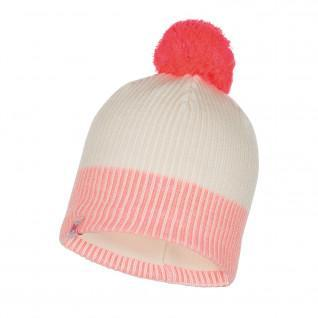 Children's knitted hat and fleece Buff Audny Fog