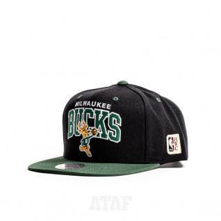 Milwaukee Bucks hwc team cap arch