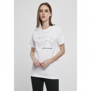 Mister Tee world map woman t-shirt