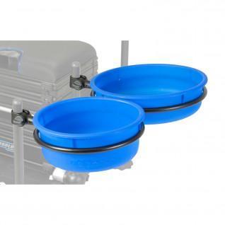 Large Preston EVA priming bowls and hoop
