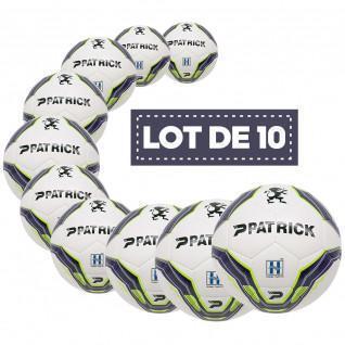 Set of 10 training balls Patrick Hybrid Bullet