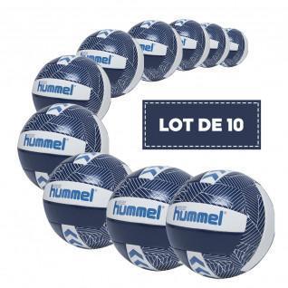 Pack of 10 Hummel Energizer Volleyballs [Size5]