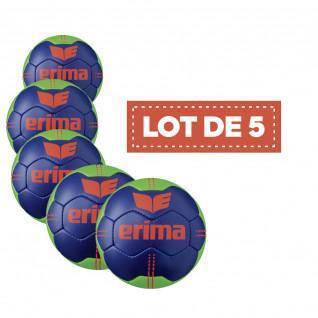 Set of 5 Balls Erima Pure Grip No. 3