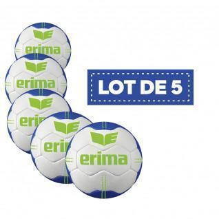 Set of 5 Balls Erima Pure Grip # 1 T2
