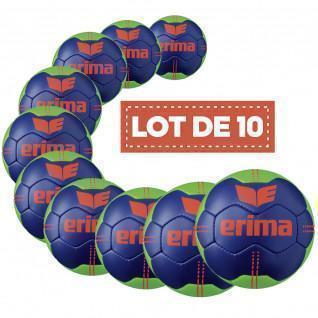 Set of 10 Balls Erima Pure Grip No. 3