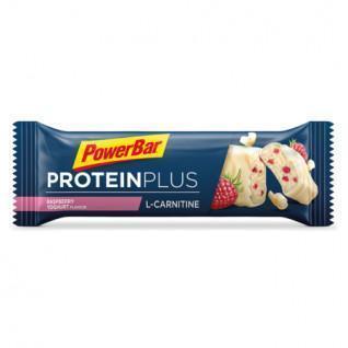 Lot 30 bars PowerBar L-Carnitine ProteinPlus - Raspberry-Yoghurt