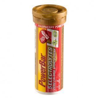 Tablets PowerBar Electrolytes 5 - Rasperry-Pomegranate (12X10 tabs)