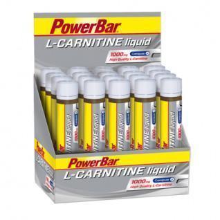 Batch of 20 tubes PowerBar L-Carnitin Liquid (20X25ml)