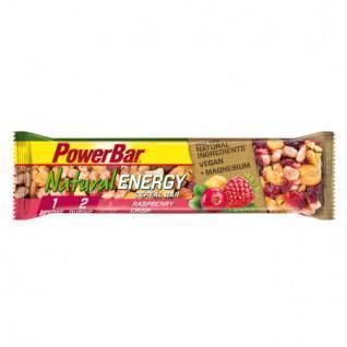 Set of 24 bars PowerBar Natural Energy Cereals - Raspberry Crisp