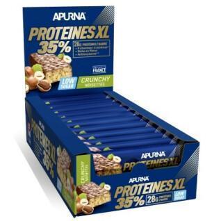 Pack of 20 bars Apurna HP XL Crunchy Noisette