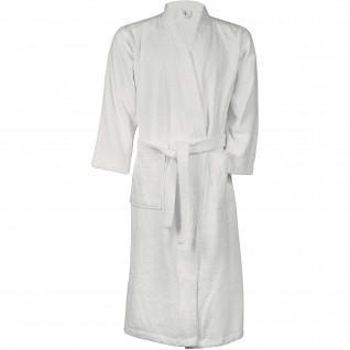 Kariaban Kimono White Bathrobe