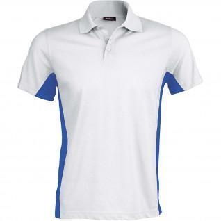 Short sleeve polo shirt Kariban Flag