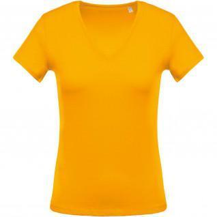 T-shirt woman Kariban V-neck