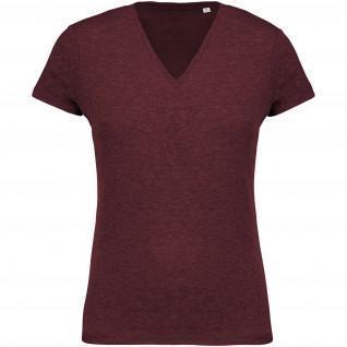 Women's T-shirt Kariban Organic Cotton V-Neck