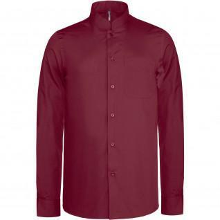 Mao collar shirt Kariban [Size M]