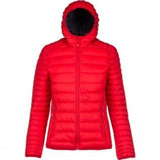 Women's down jacket Kariban Légère Capuche [Size XL]
