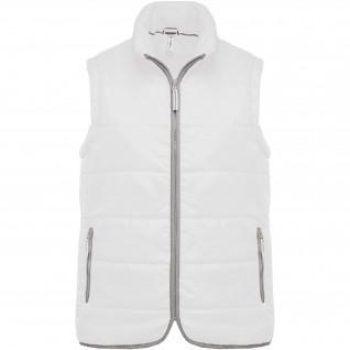 Sleeveless down jackets Kariban Matelassé