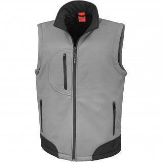 Sleeveless down jacket Result Softshell