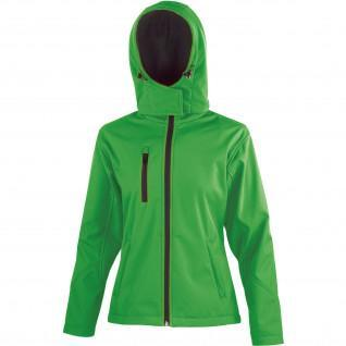 Jacket Result Softshell Capuche Femme Tx Performance