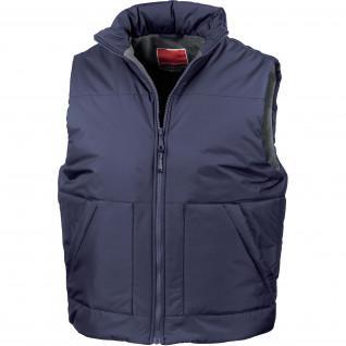 Kariban Sleeveless Kariban Polar Fleece Lined Jacket