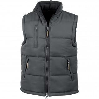 Sleeveless down jacket Result Doublé