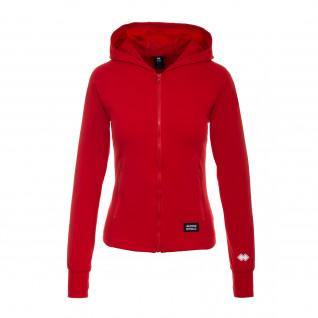 woman hooded sweatshirt Errea Sport merger