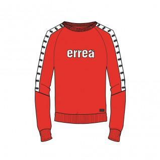 Sweatshirt woman crewneck Errea essential ad