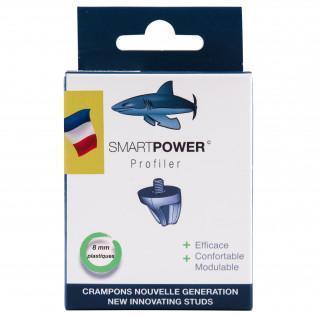 Plastic studs Smart Power - 8mm (Pack 2) [Size 8mm]