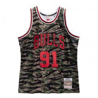 Chicago Bulls tiger camo jersey