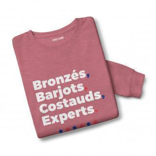 Sweatshirt mixed Bronzés Barjots ...