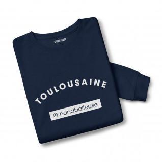 Sweatshirt woman Toulouse + handball