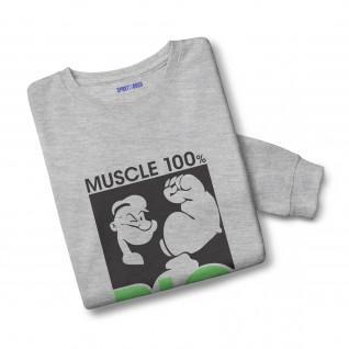Muscle Sweatshirt 100% organic