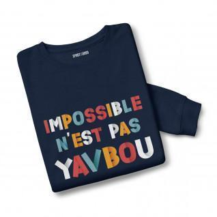 Mixed Sweatshirt Impossible is not Yavbou