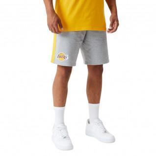 Short New Era NBA Los Angeles Lakers logo