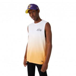 Tank top New Era NBA Los Angeles Lakers dip dye