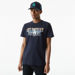 Los Angeles Dodgers photographic wordmark T-shirt