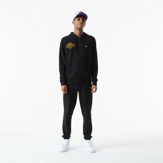 New Era NBA Chain Stitch Los Angeles Laker Hoodie