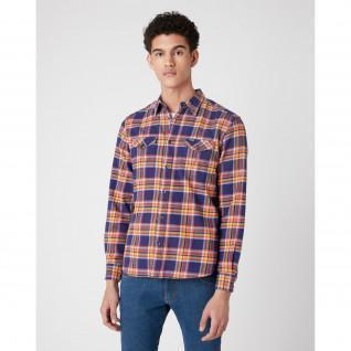 Patriot Pocket Wranger Shirt blue [Size S]