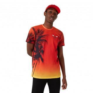 New Era NBA Coastal Heat Miami Heat Aop T-Shirt