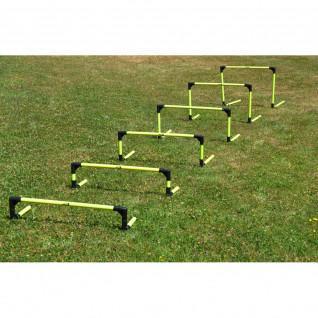 Set of 6 foldable agility hurdles Power Shot