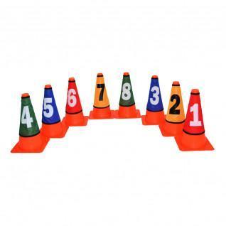 Necked cones numbered LynxSport