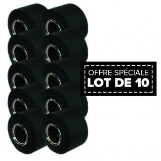 Pack of 10 sport tape McDavid 3,8 cm x 10m noir
