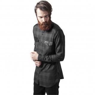Shirt Urban Classic zip leather flannel