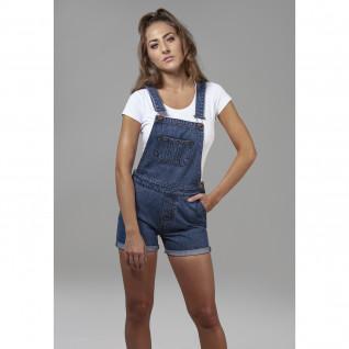 Women's Urban Classic dungaree shorts