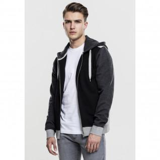 Sweatshirt Urban Classic 3-tone sweat zip