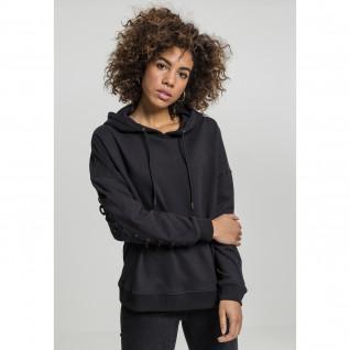 Sweatshirt woman Urban Classic laced-up